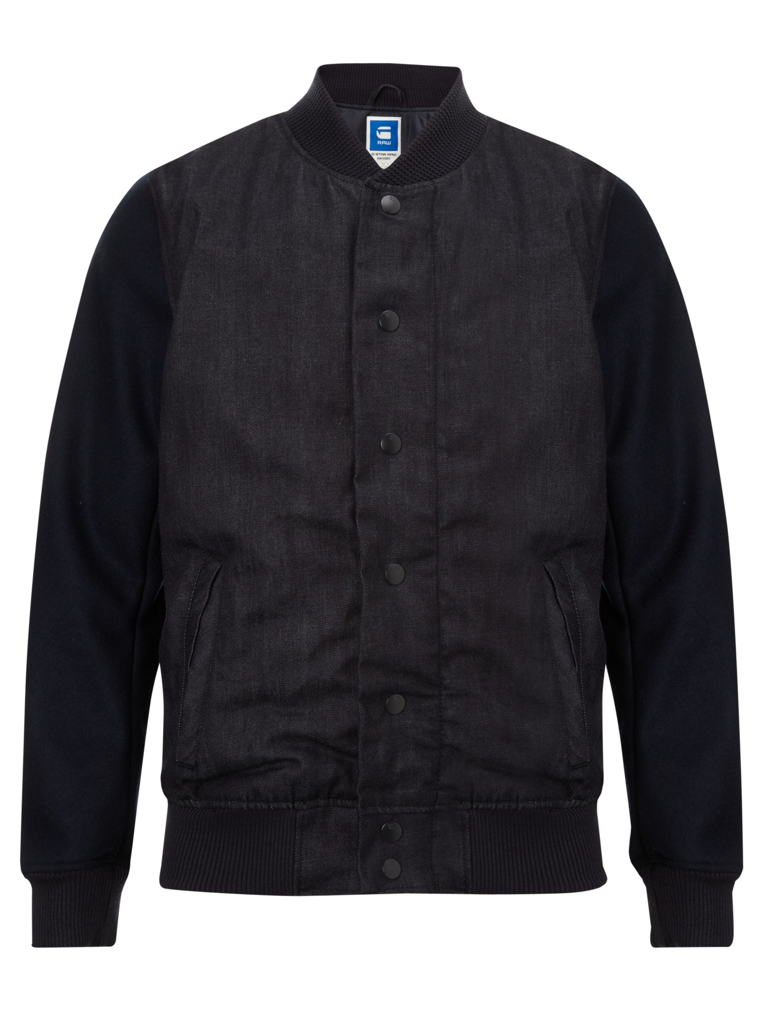 lyst g star raw salvos bomber jacket in black for men. Black Bedroom Furniture Sets. Home Design Ideas