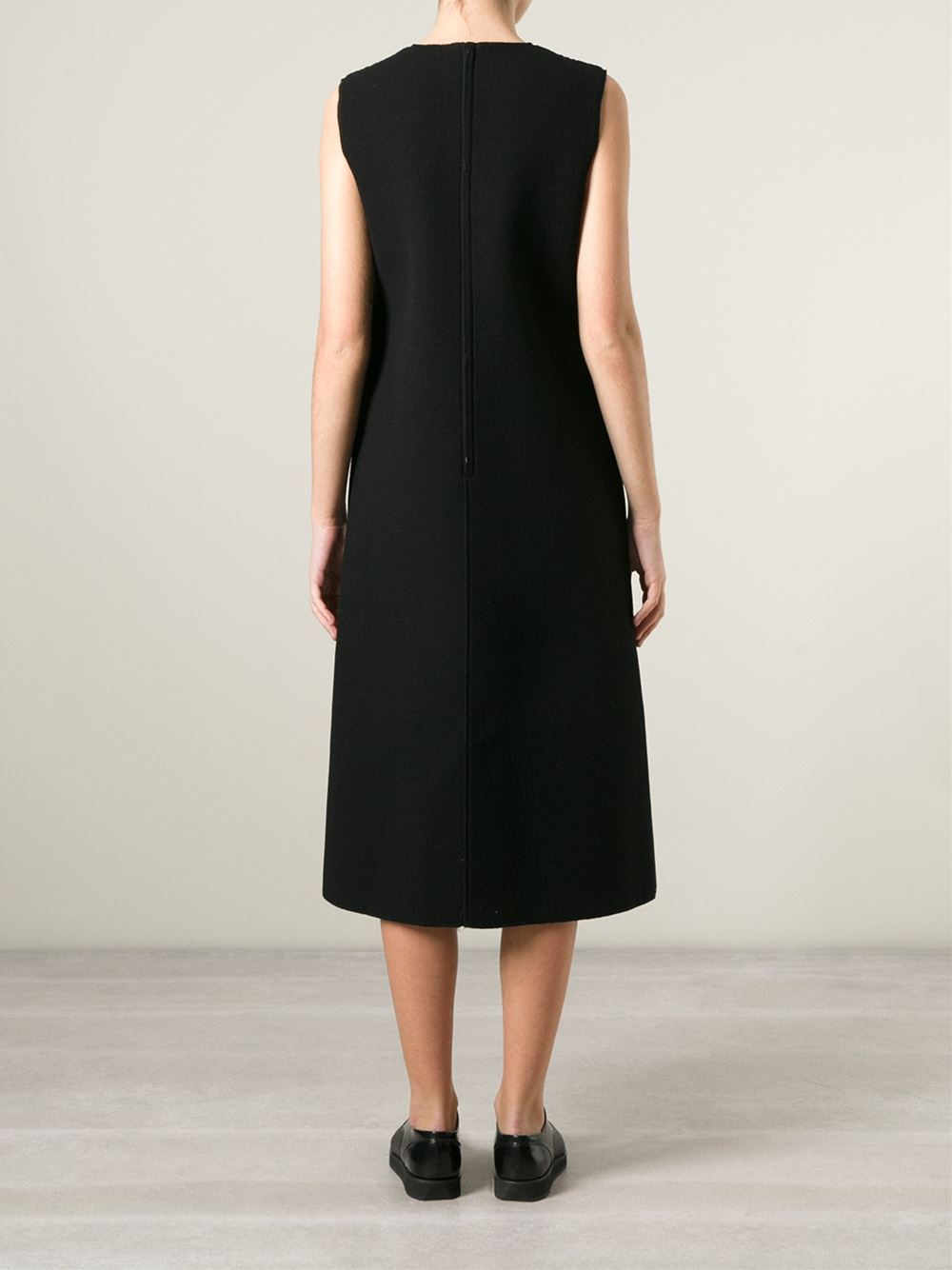 Comme des gar ons 39 robe de chambre 39 padded dress in black for Robe de chambre seculo xix