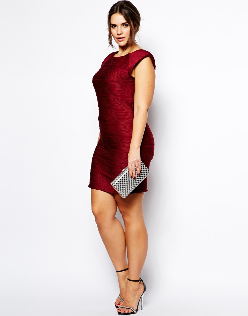 Gunna and ax paris red bodycon dress for women size chart gym