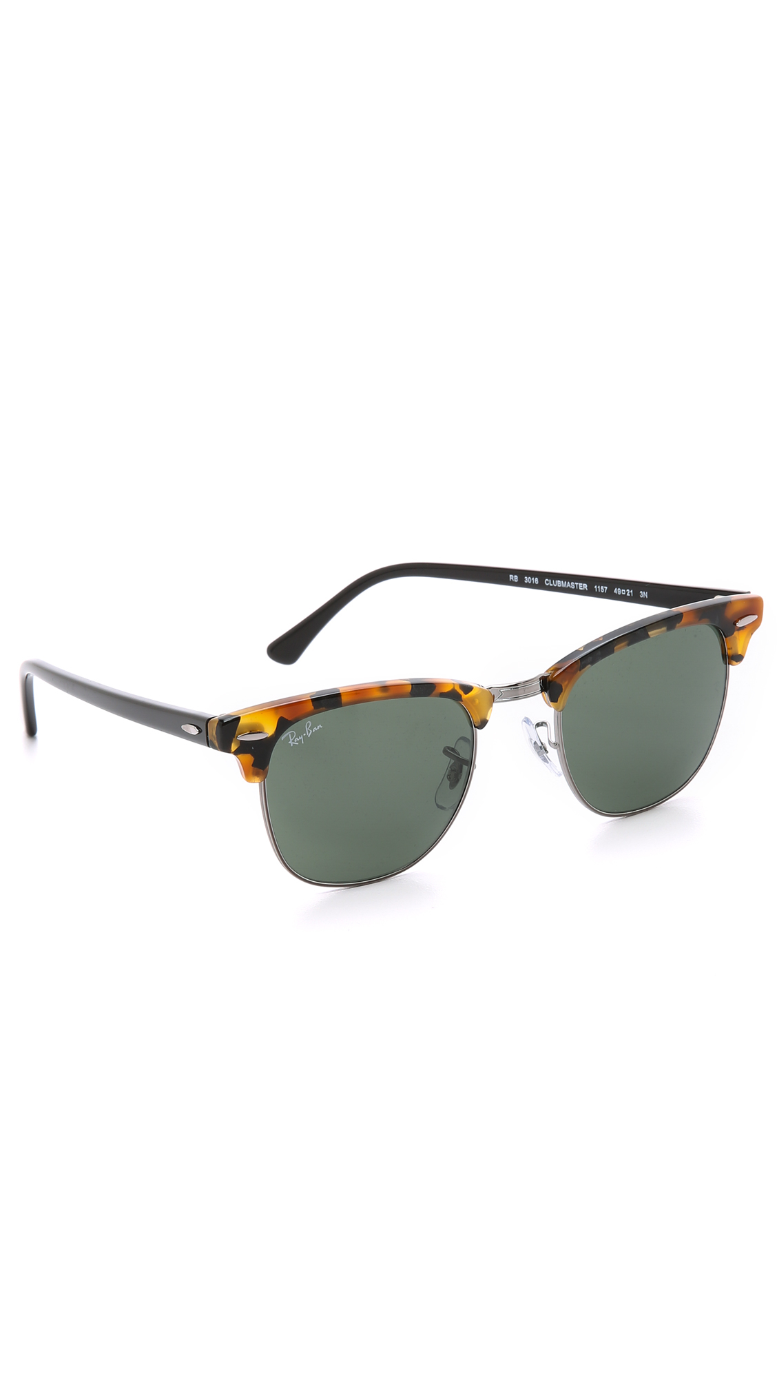 45f6dbe38f91 Ray Ban Clubmaster Men s Black