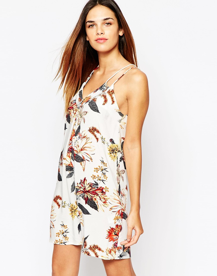 Lyst - Warehouse Floral Cami Dress
