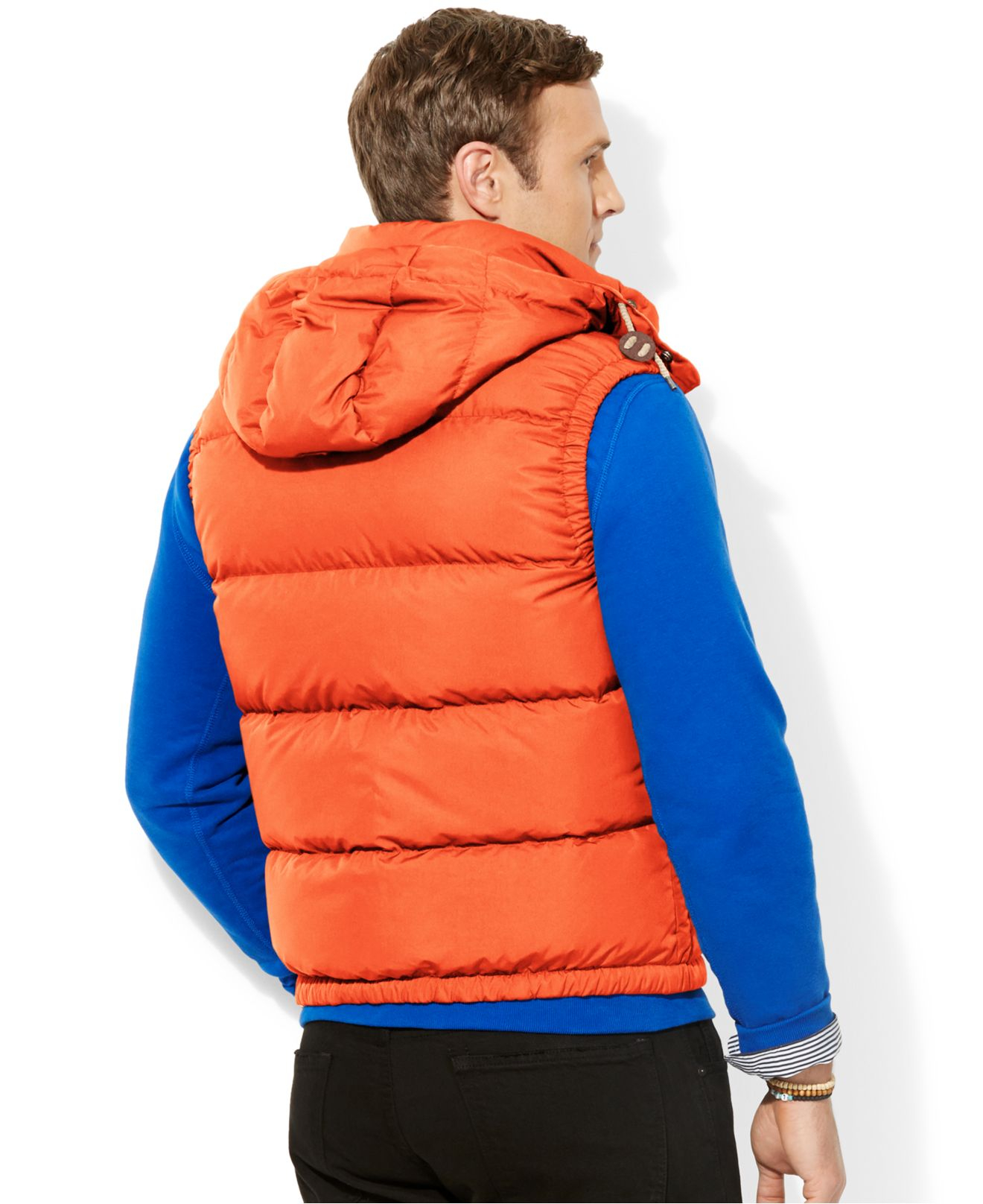 Polo Ralph Lauren Big And Tall Elmwood Down Puffer Vest in ...