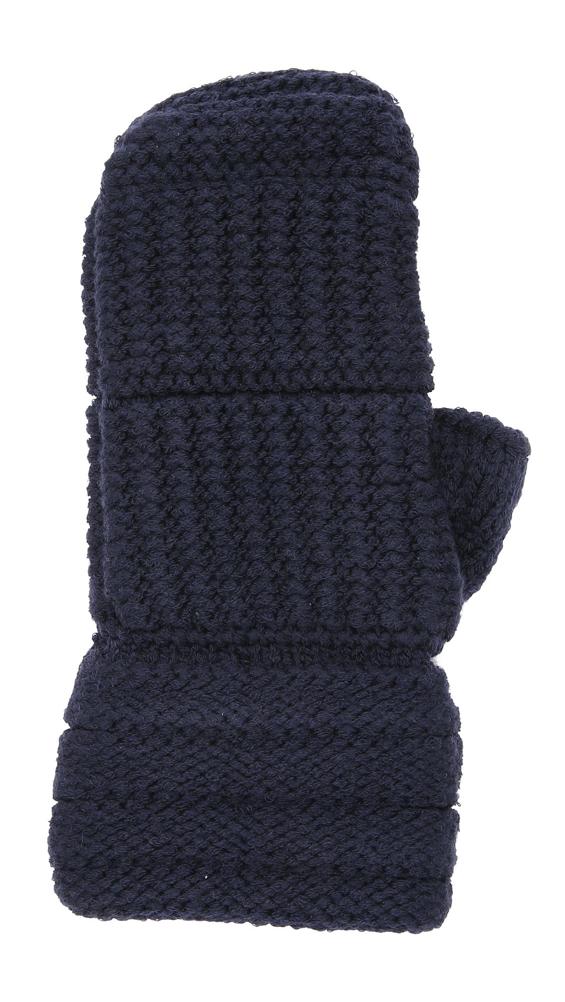 Knitting Pattern Boxing Gloves : Averett Punch Hand Knit Boxing Gloves in Blue (Navy) Lyst