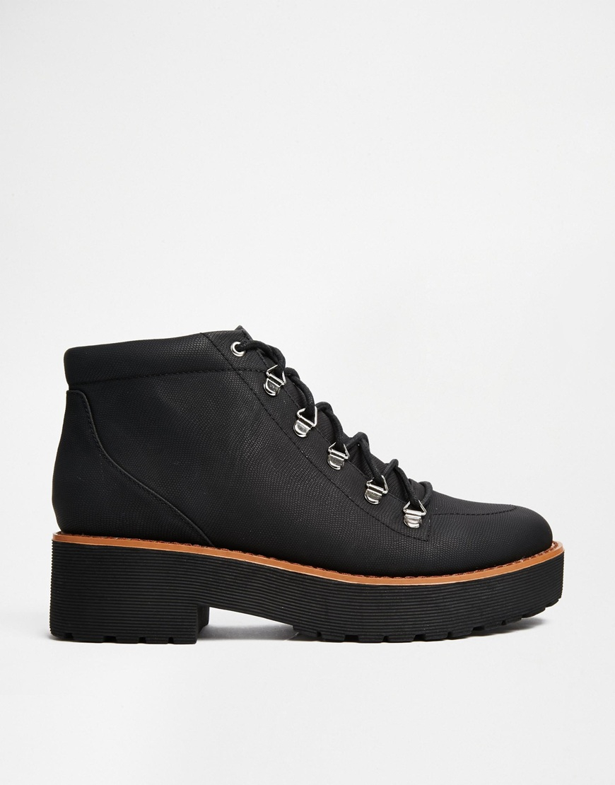 Action Packed Hiker Ankle Boots