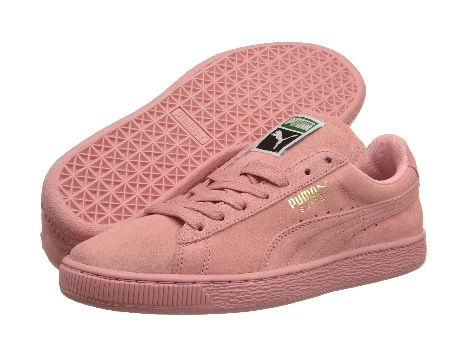 new concept ac5b6 4a410 Women's Pink Suede Classic Wns