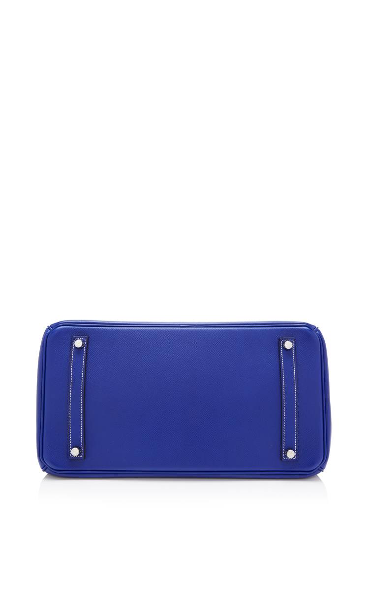 Heritage auctions special collection Hermes 35cm Blue Electric and ...