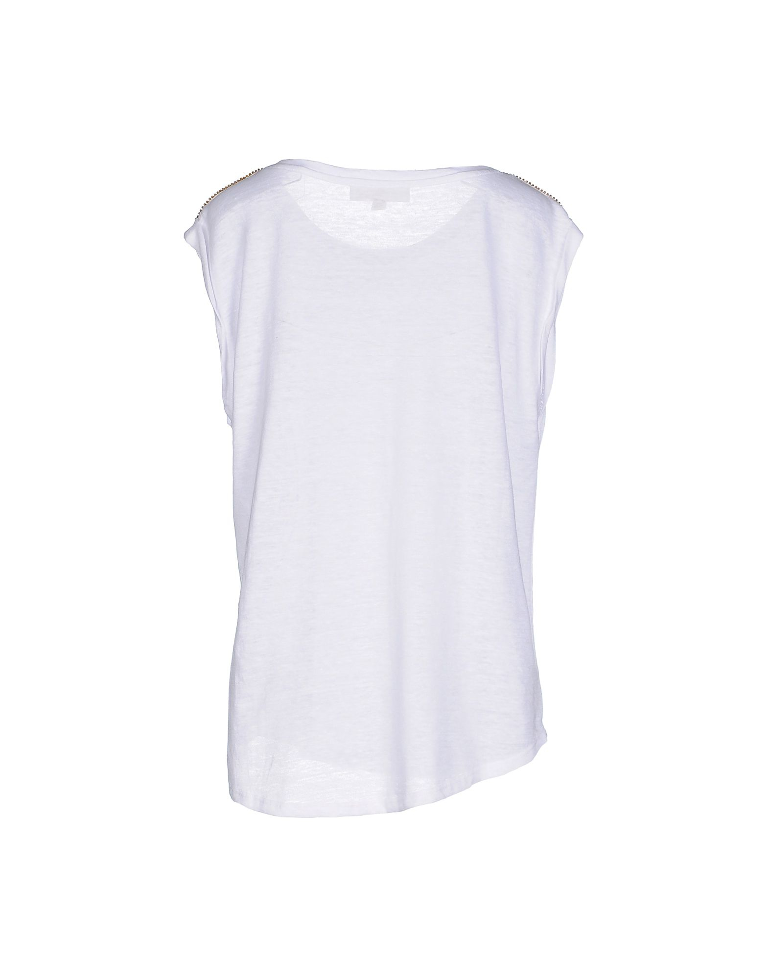 michael michael kors t shirt in white lyst. Black Bedroom Furniture Sets. Home Design Ideas