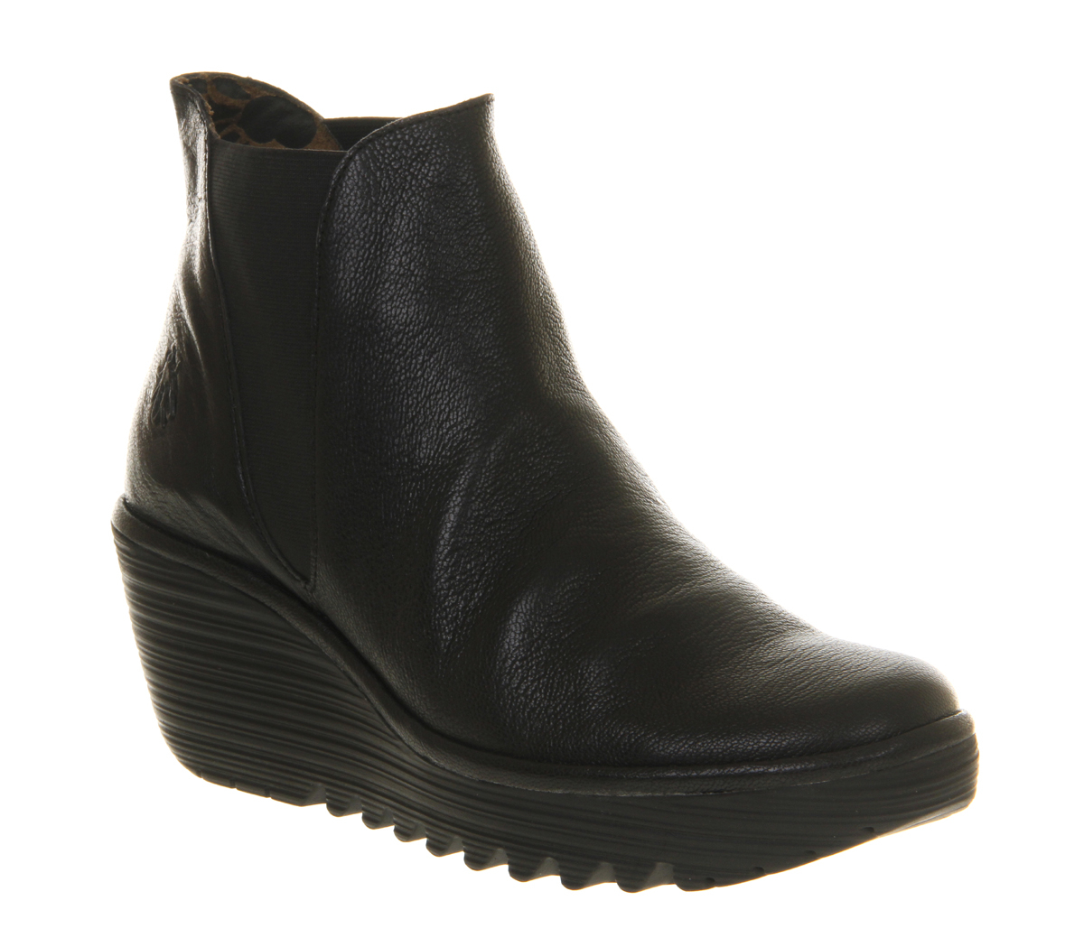 Fly London Yoss Ankle Boots In Black Lyst