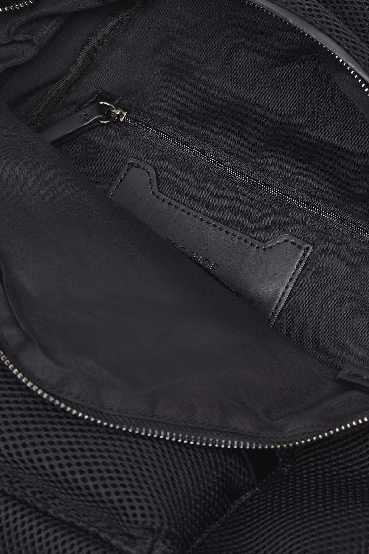 TOPSHOP Mesh Zip Around Backpack in Black