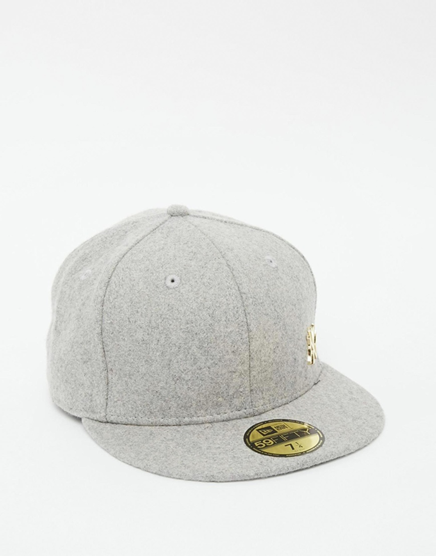 f40630344ce8c9 KTZ 59fifty Ny Yankees Fitted Cap in Gray for Men - Lyst