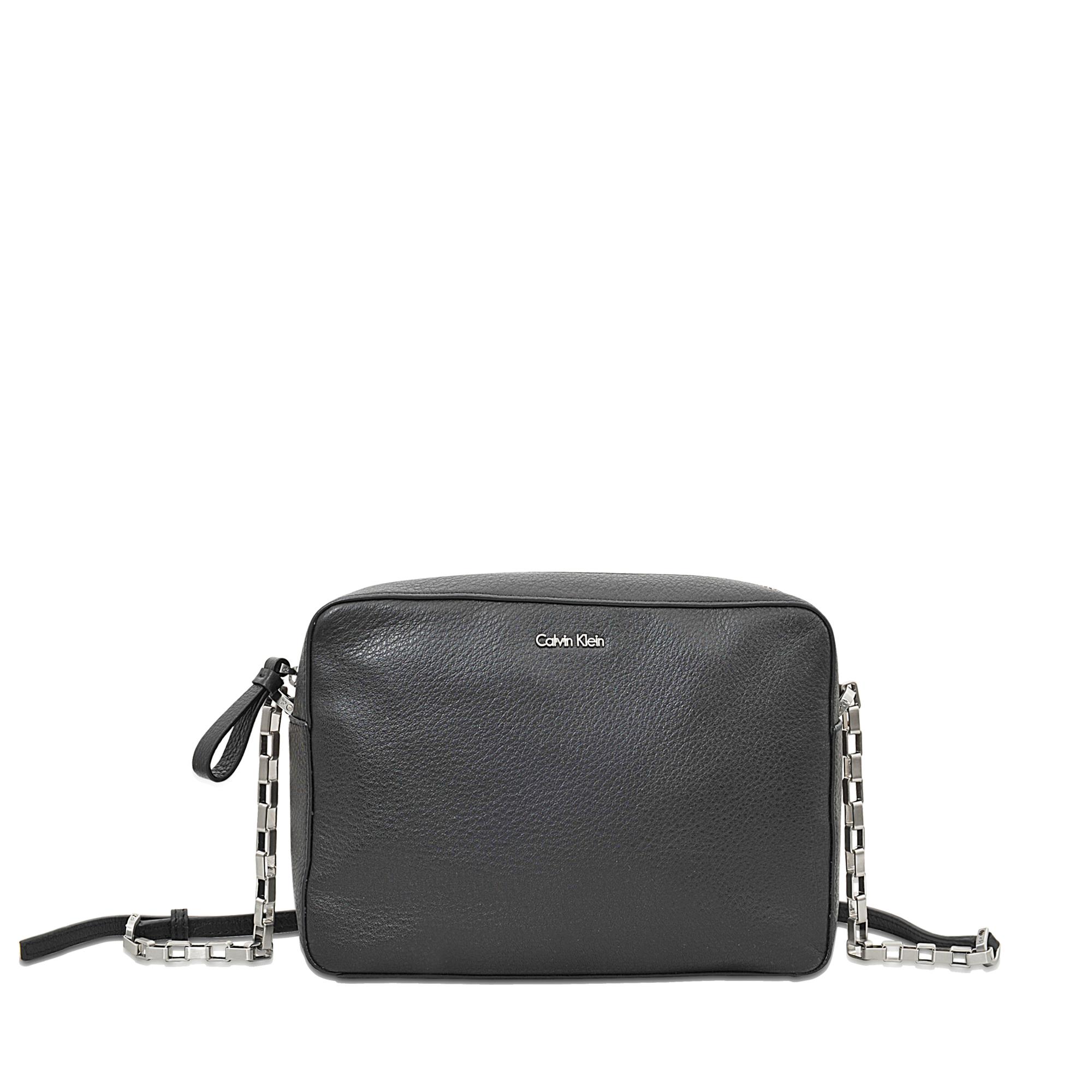 f7faa82083bb Lyst - Calvin Klein Kate Crossbody Bag in Black