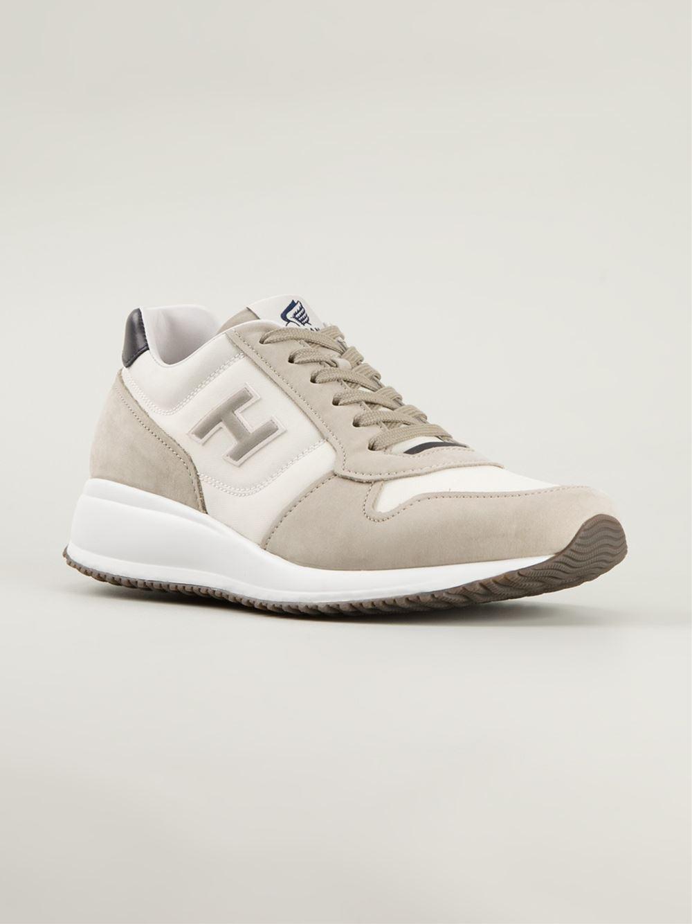 Hogan 'Interactive N20' Sneakers in Natural for Men - Lyst