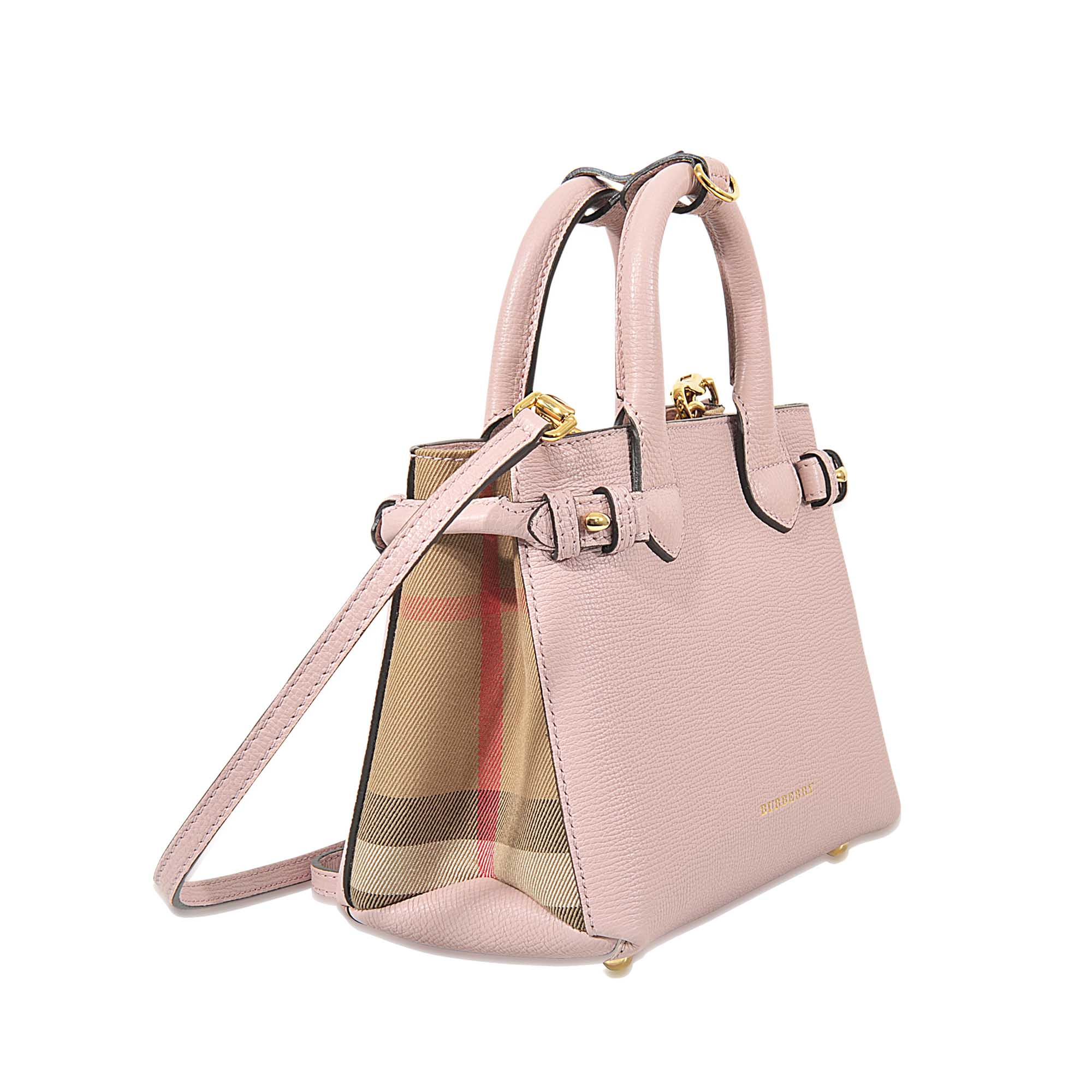 Lyst - Burberry Baby Banner Bag in Pink 9408046a79047