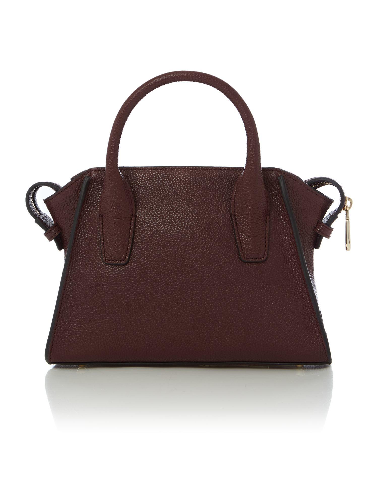 Dkny Chelsea Vintage Burgundy Mini Satchel Bag in Purple | Lyst