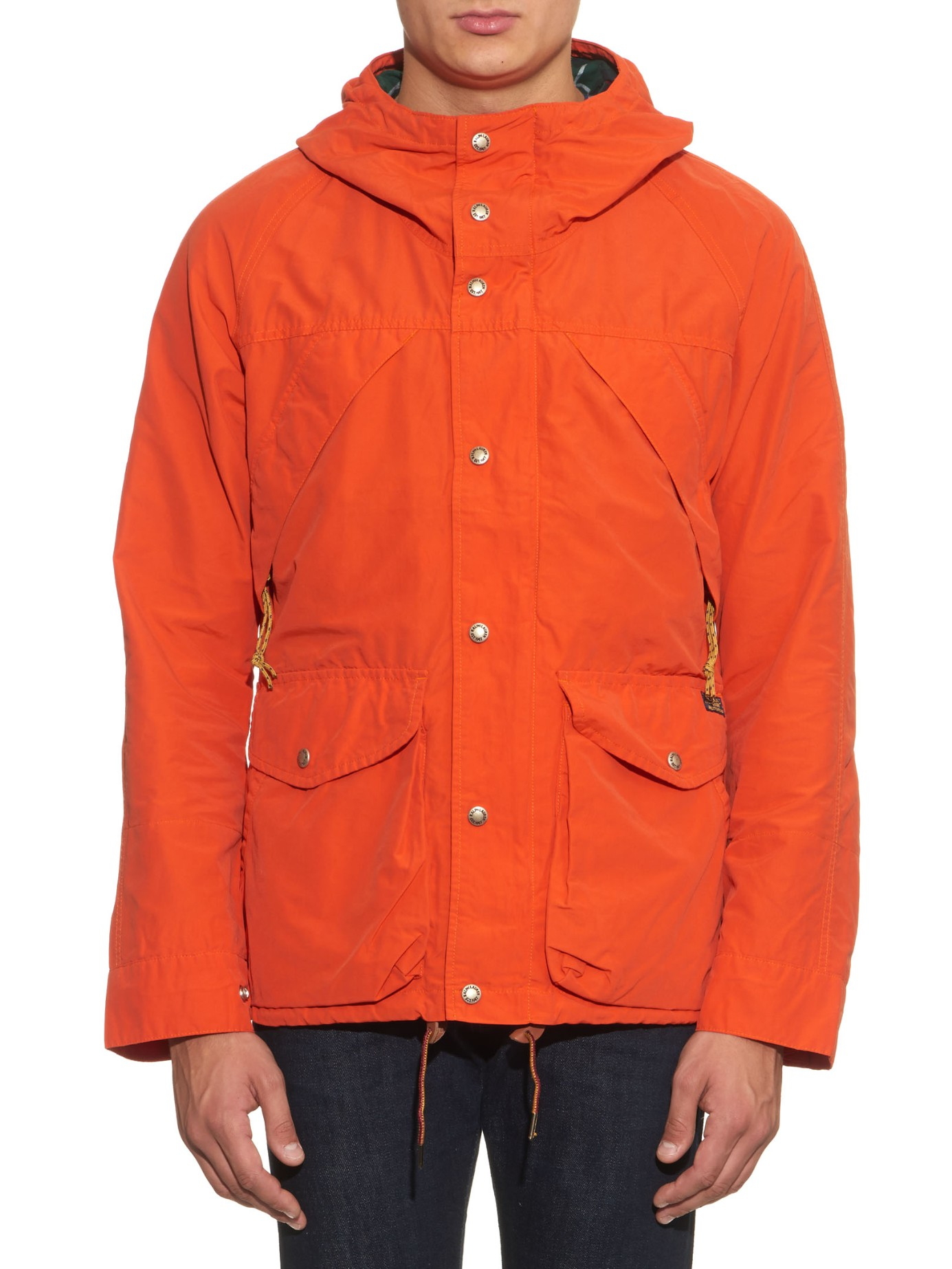 3ab7a184f Polo Ralph Lauren Trekking Basecamp Anorak Jacket in Orange for Men ...