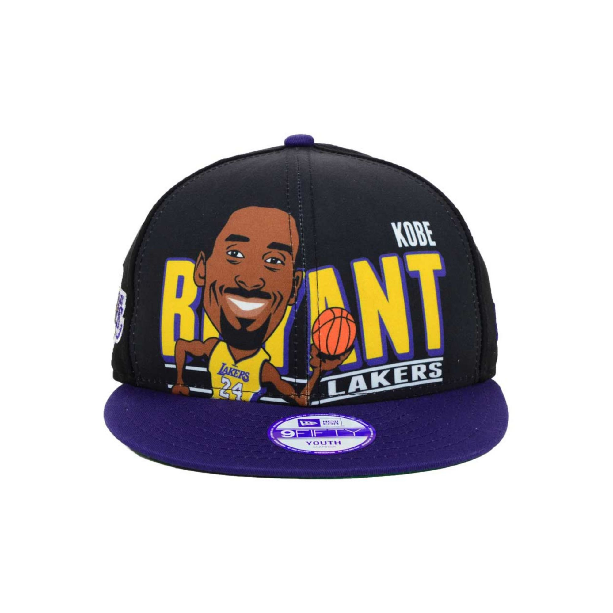 official photos f8d10 26157 KTZ Kids Kobe Bryant Los Angeles Lakers Player 9fifty Snapback Cap ...