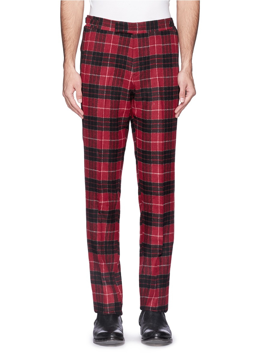 Timothée Chalamet's New Plaid Pants If you're in New York next week Timmy will be doing a couple of Q&As at the Angelika for the release of Beautiful Boy - you can get tickets here (if they didn't sell out already, of course).