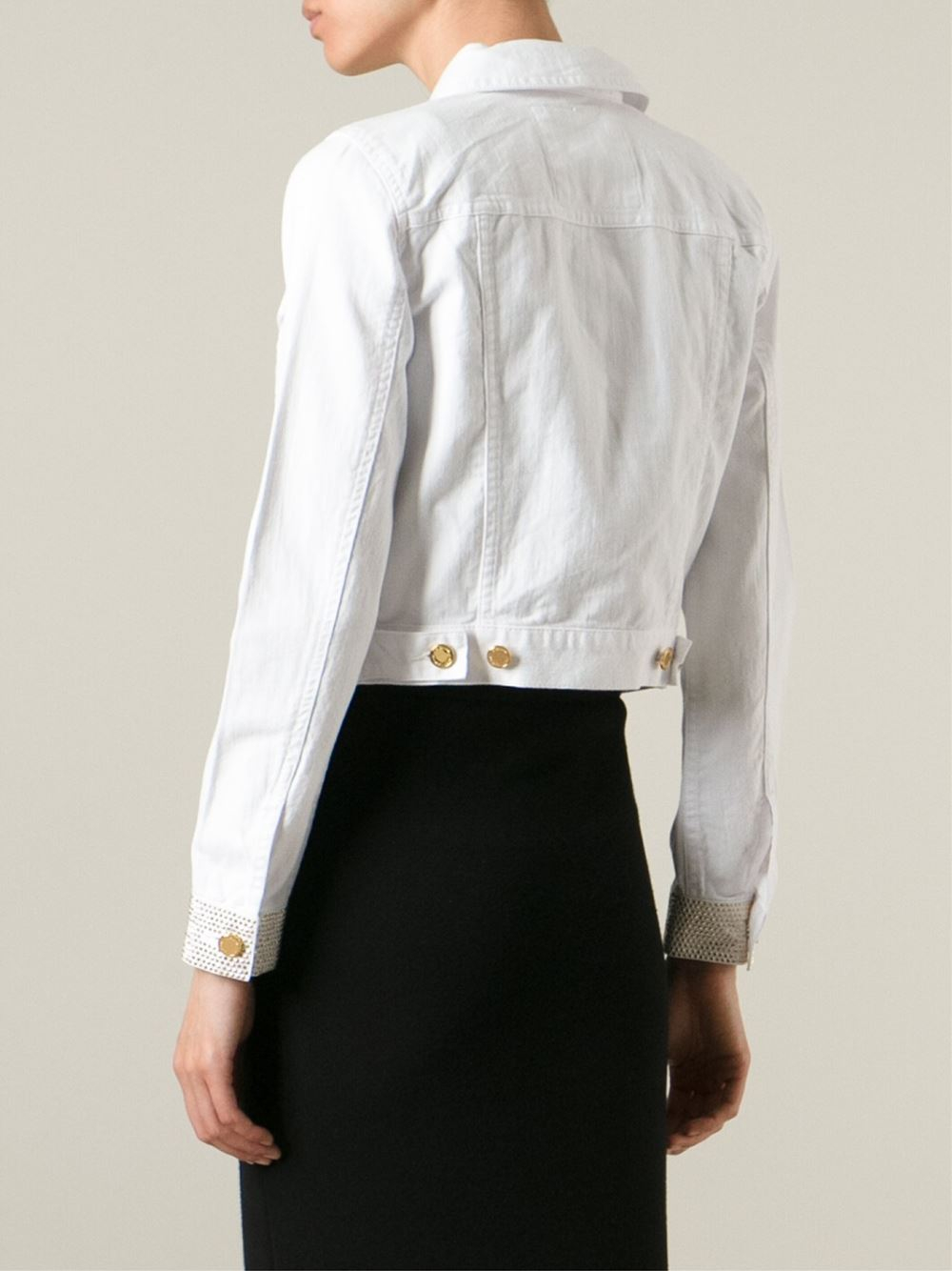 White Jeans Jacket For Women