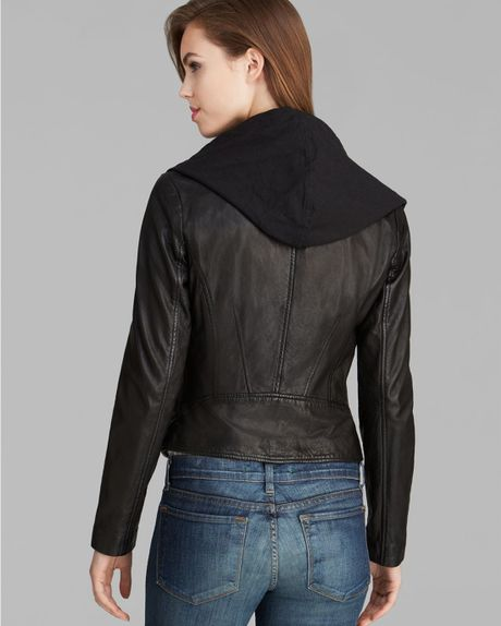 Marc New York Black Leather Jacket - Leather Jackets | Men s Wearhouse