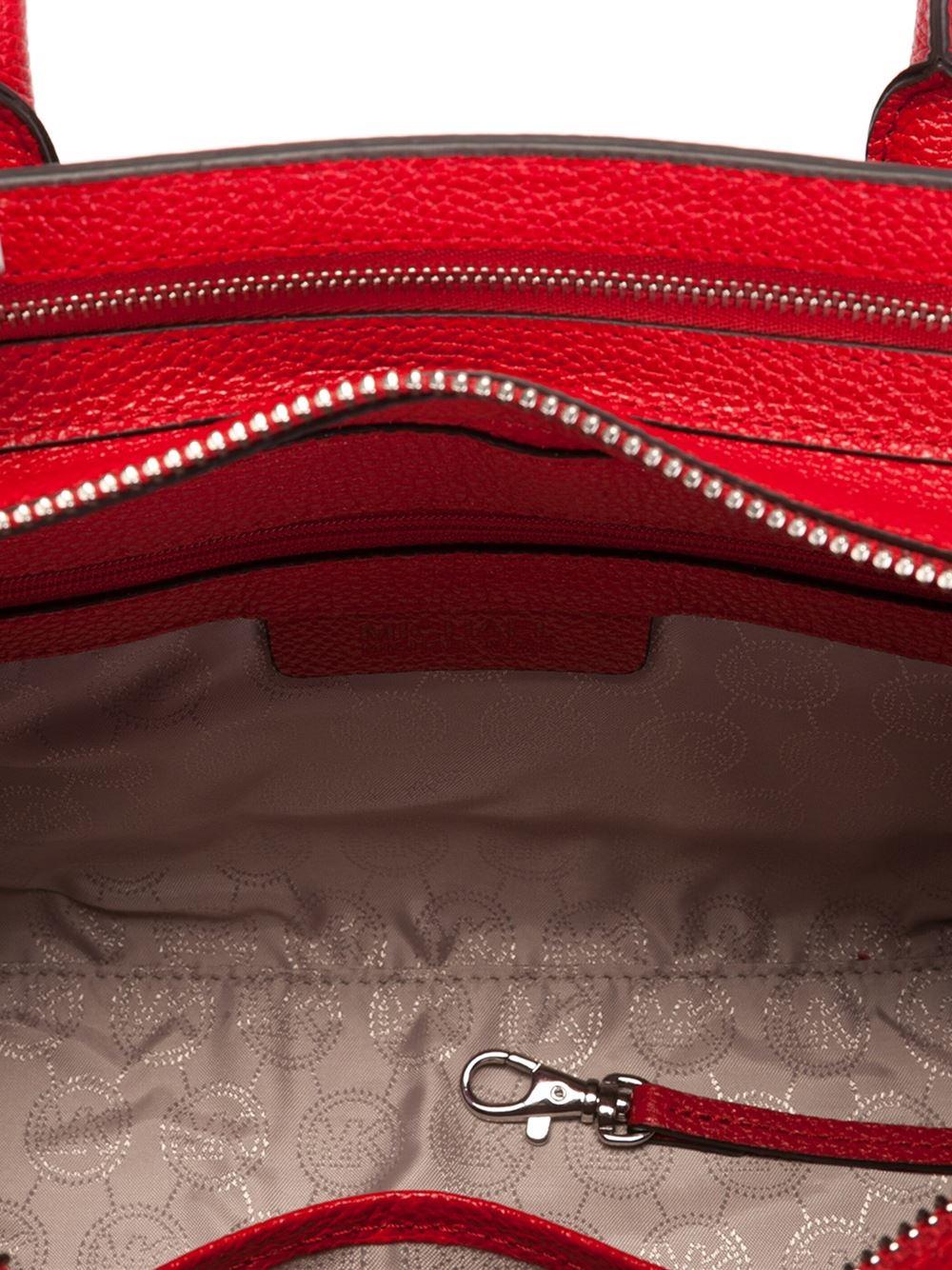 MICHAEL Michael Kors Medium 'harper' Tote in Red