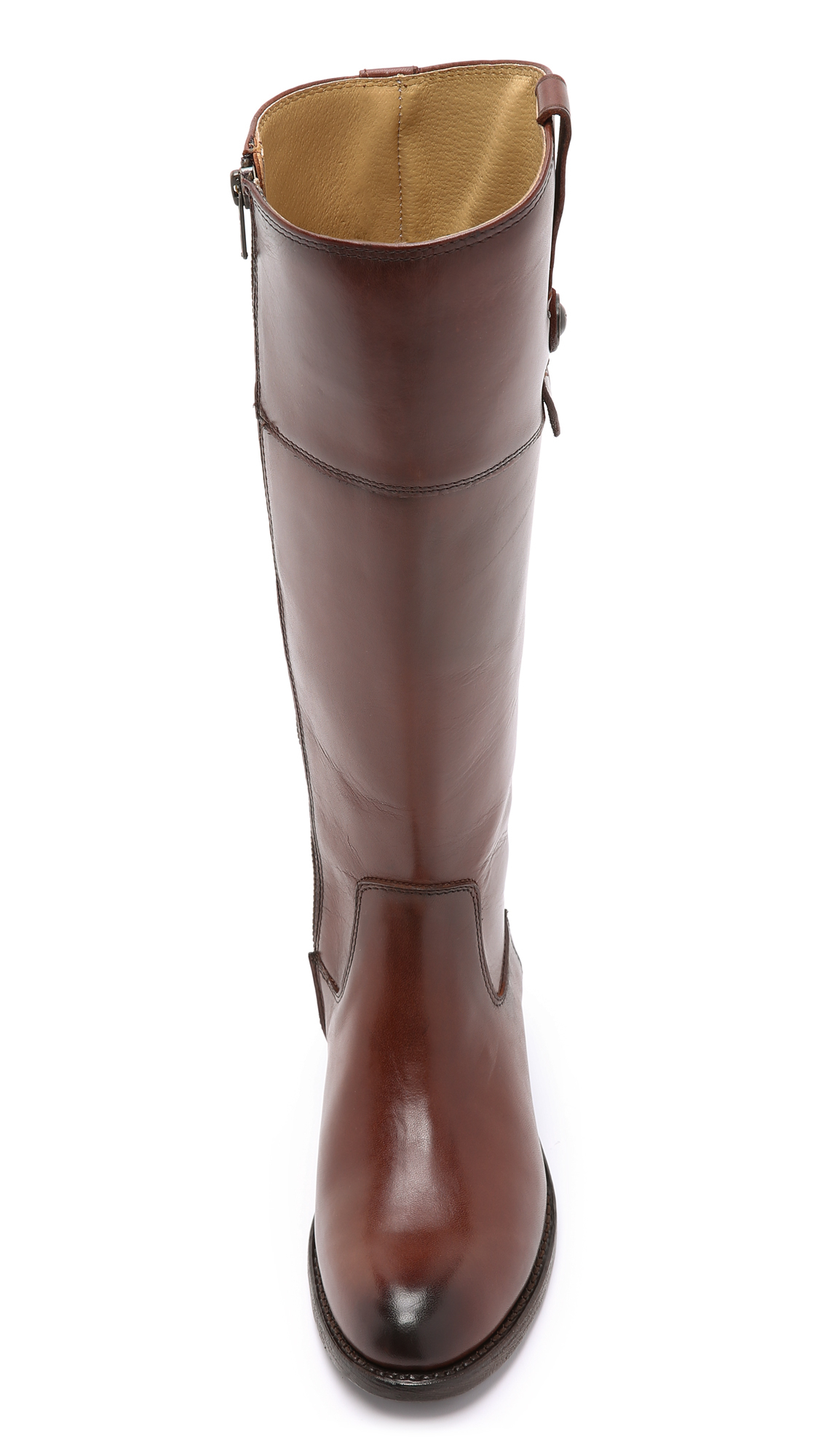 Frye Jayden Button Tall Boots in Brown | Lyst