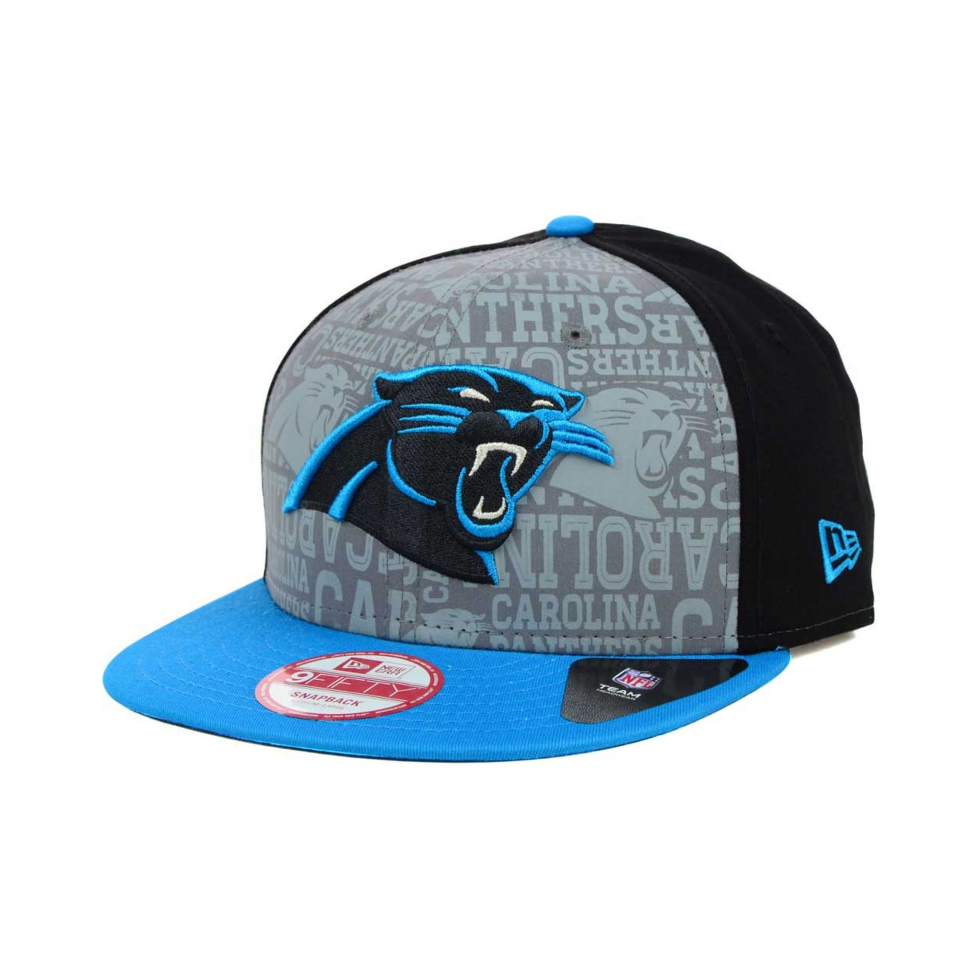 ... clearance lyst ktz carolina panthers nfl draft 9fifty snapback cap in  blue e1000 b5eb8 f14c3e7c8