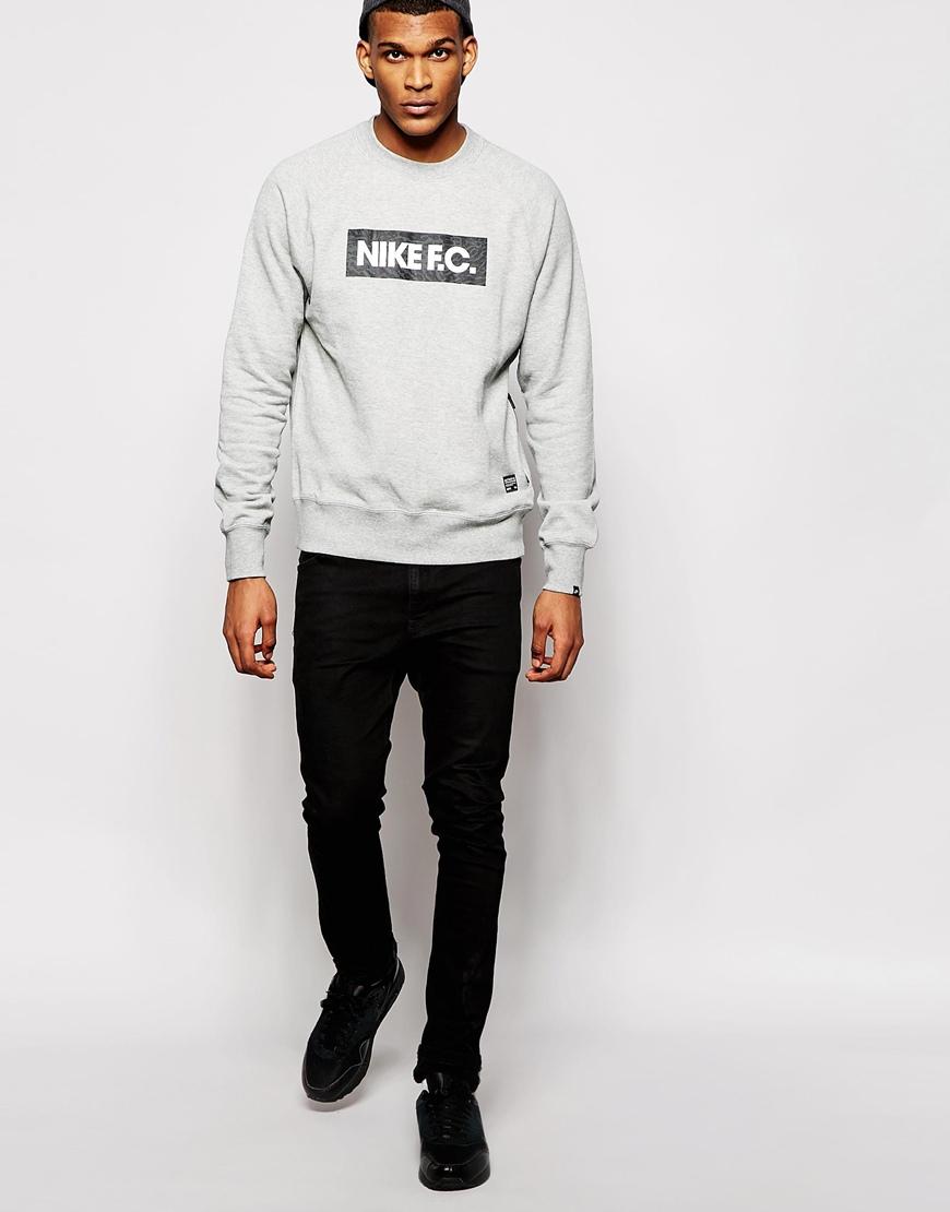 pro 3d femme de salomon - Nike Fc Sweatshirt in Gray for Men   Lyst