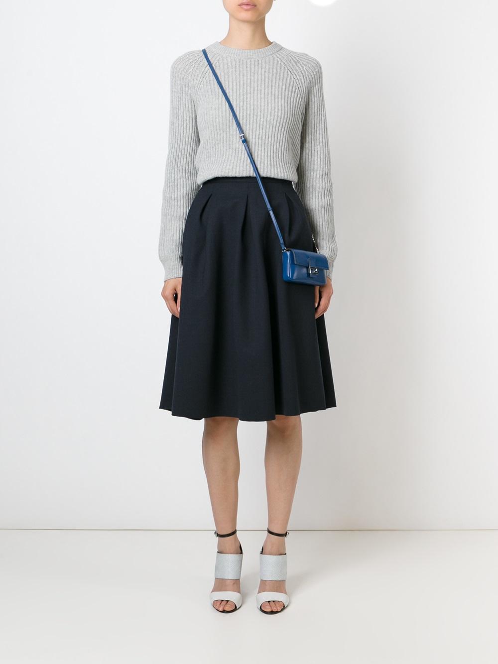835054dcbd ... sale lyst fendi micro baguette bag in blue 1b49b 4e4fc