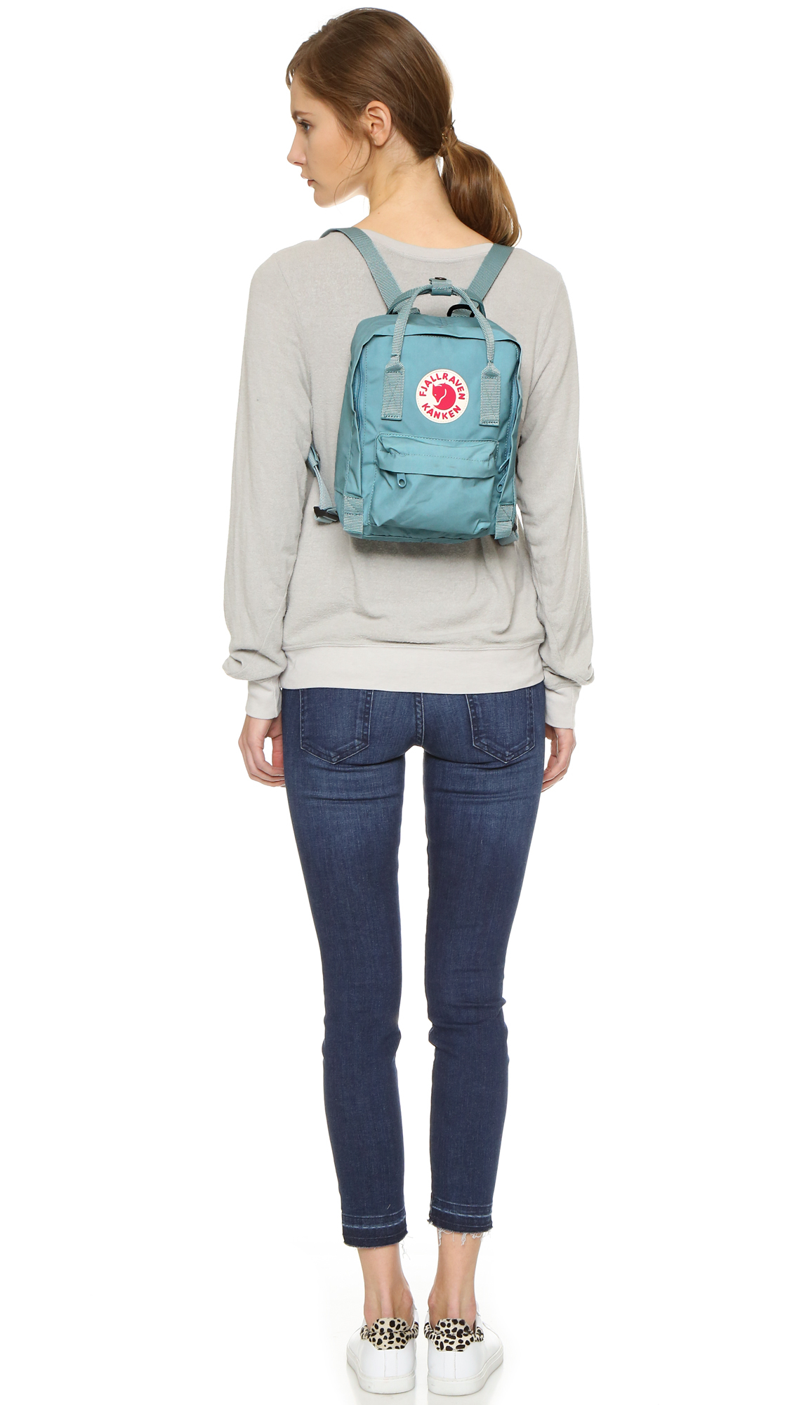 fjällräven kånken mini light blue