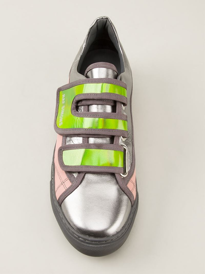 Raf Simons Colour Block Sneaker in Grey (Grey) for Men