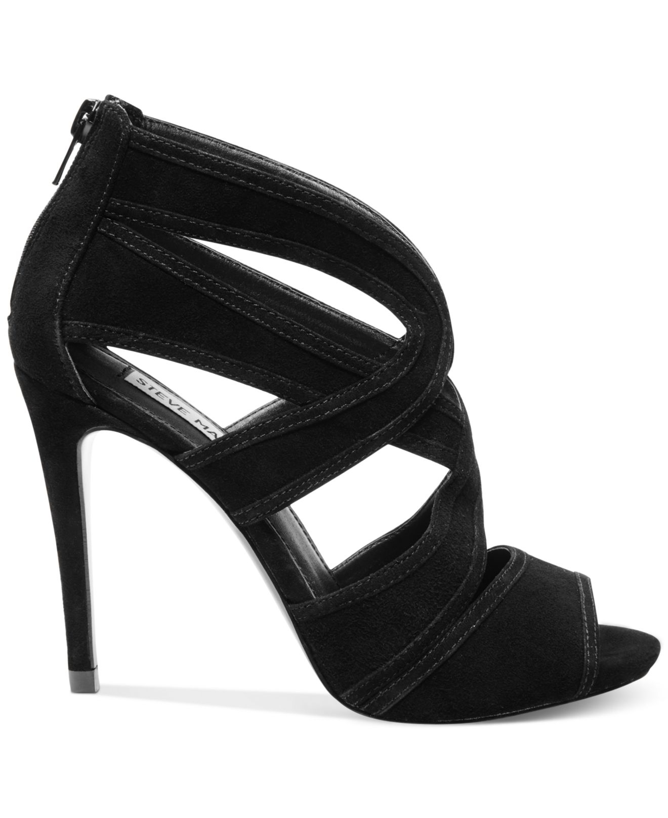 cdf0a580845 Lyst - Steve Madden Women S Immence Strappy Sandals in Black