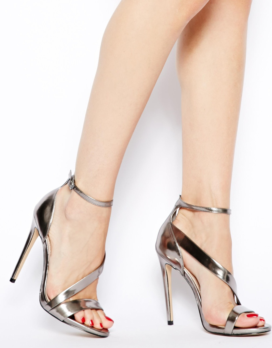 Carvela Gosh Black Strap Heeled Sandals at asos.com