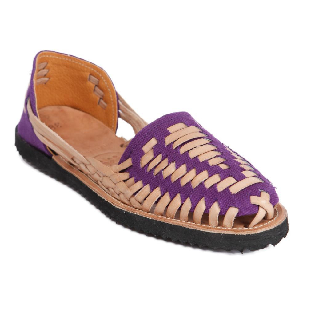 Woven Leather Shoes Womens Huarache