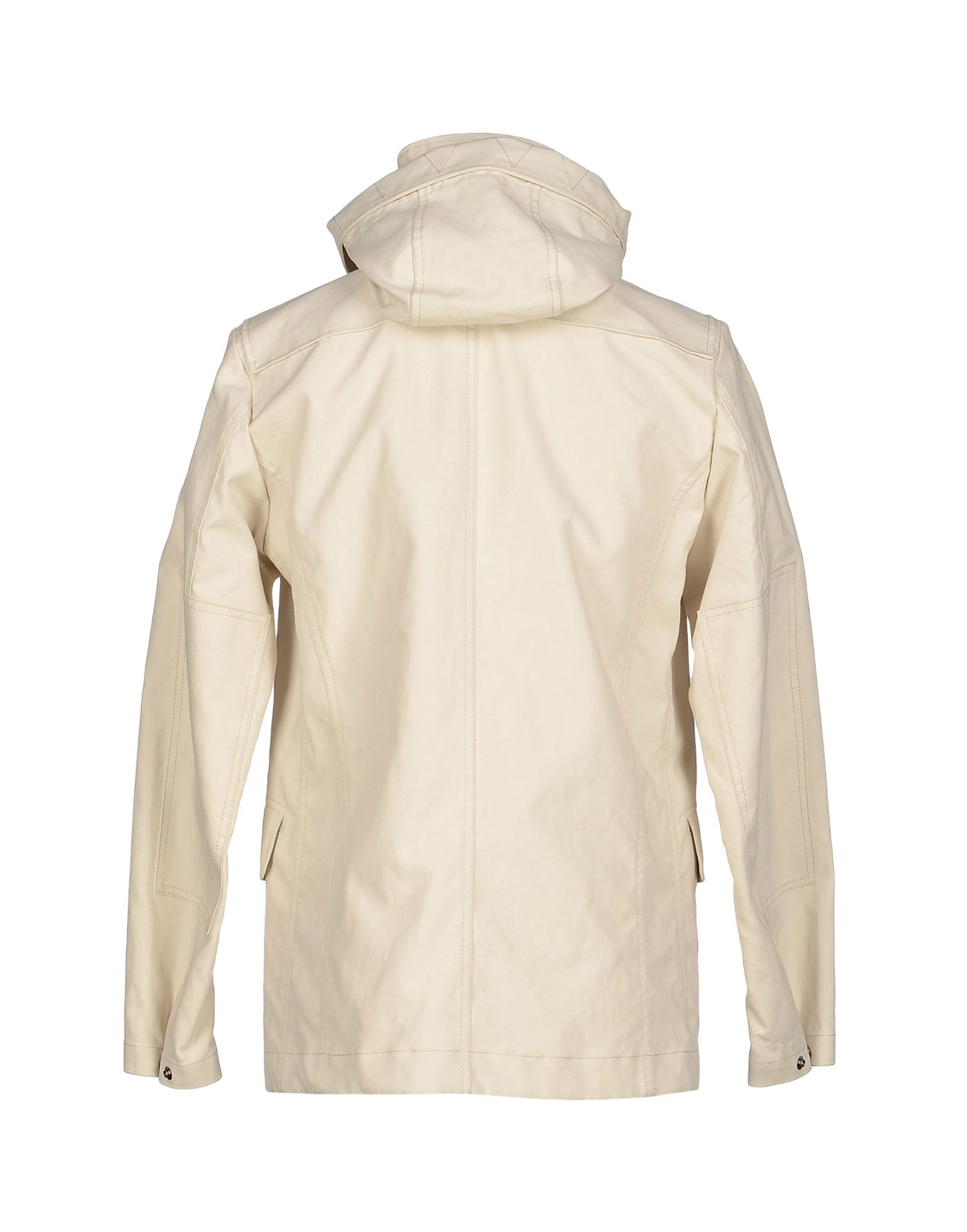 Marina Yachting Cotton Full-length Jacket in Ivory (White) for Men