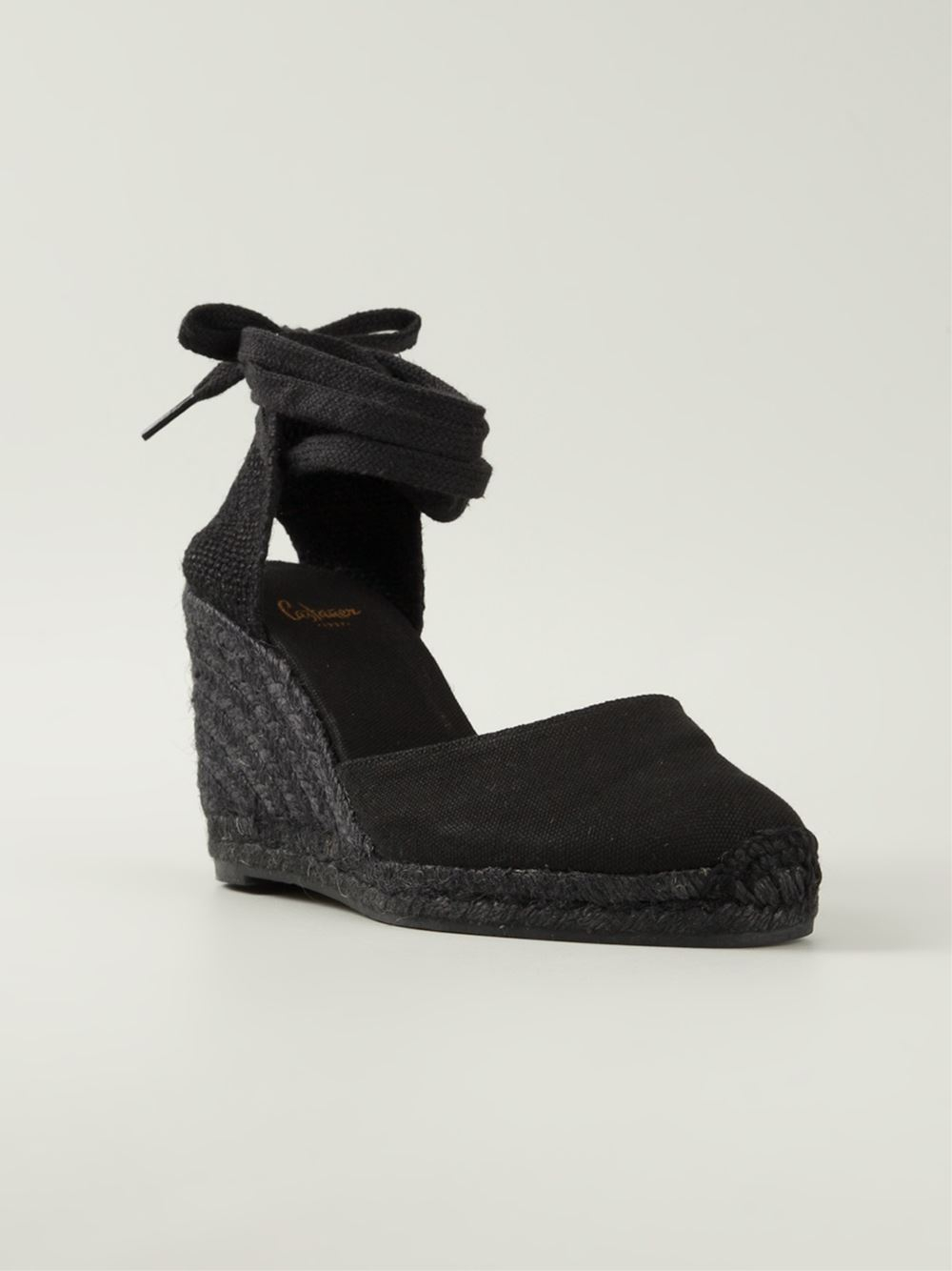 Castaner Wedge Espadrilles In Black Lyst