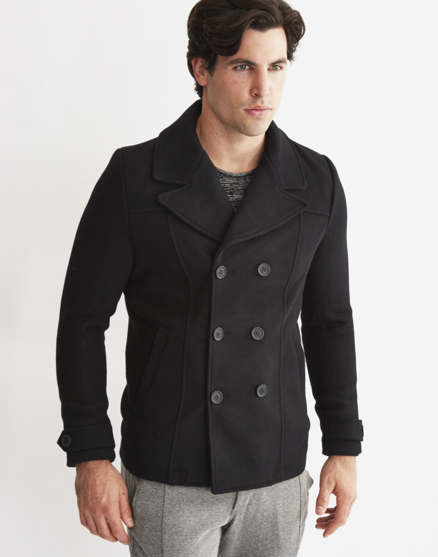 Only & sons Mens Peacoat Black in Black for Men | Lyst