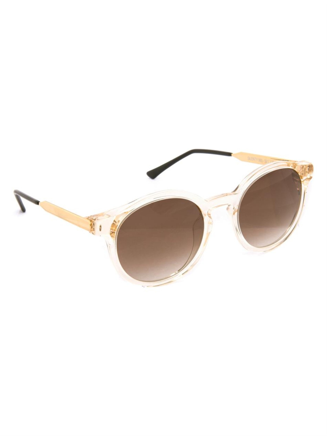 THIERRY LASRY Silenty round sunglasses Hors8s9lgB