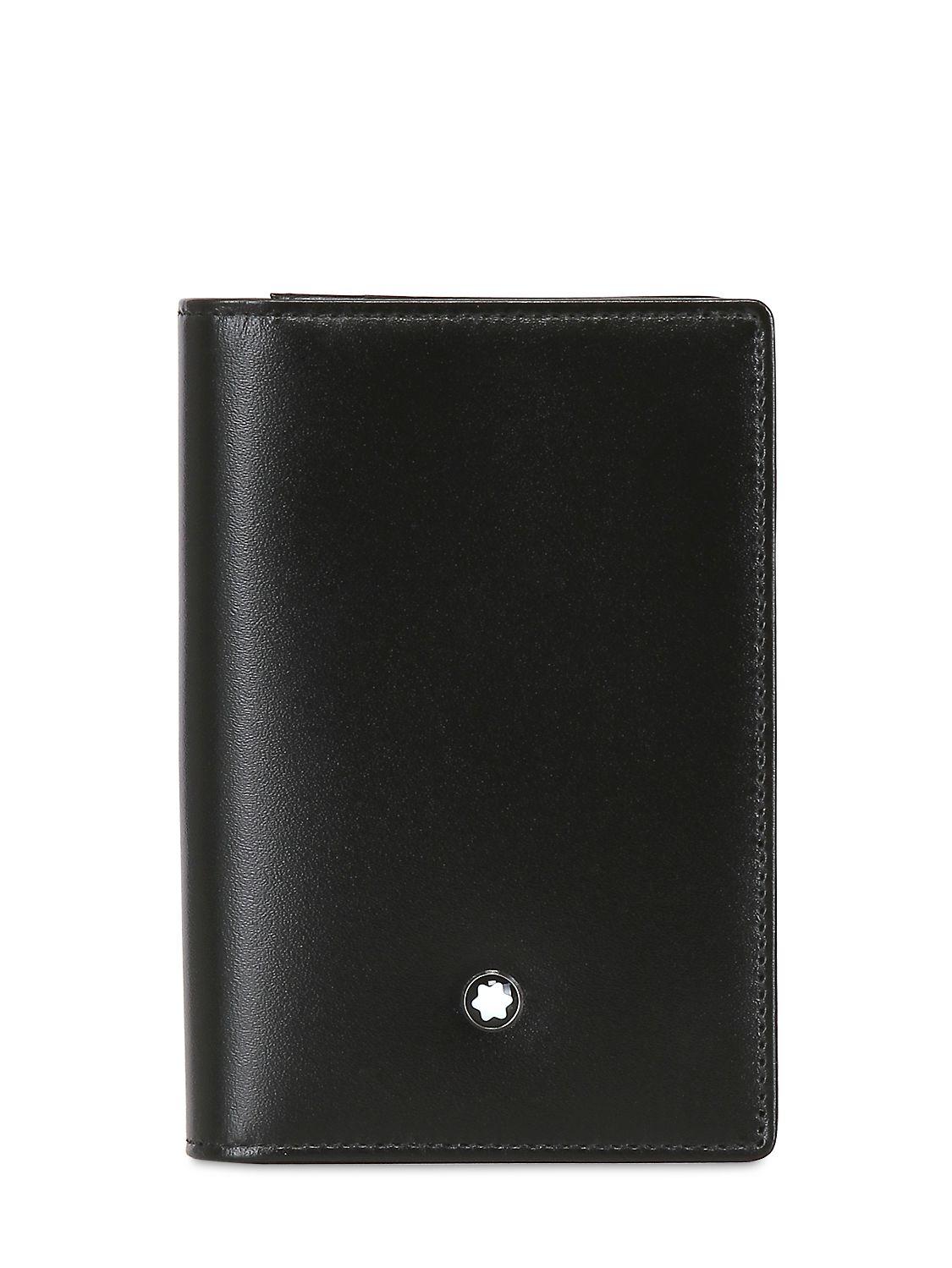 Montblanc Meisterstuck Business Card Holder in Black for