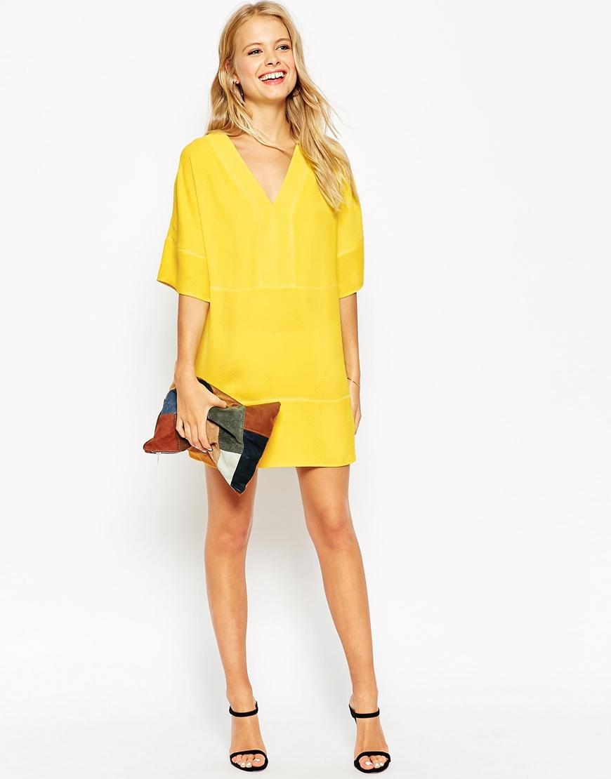 Yellow Tunic Dress