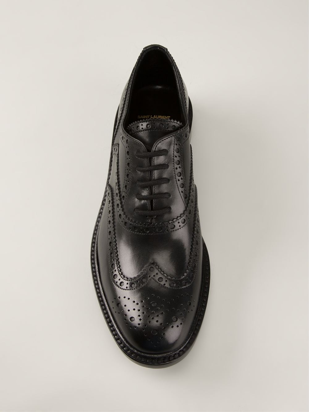 free shipping newest low price fee shipping for sale Saint Laurent Black Army Derbys free shipping find great 3GEFaQF
