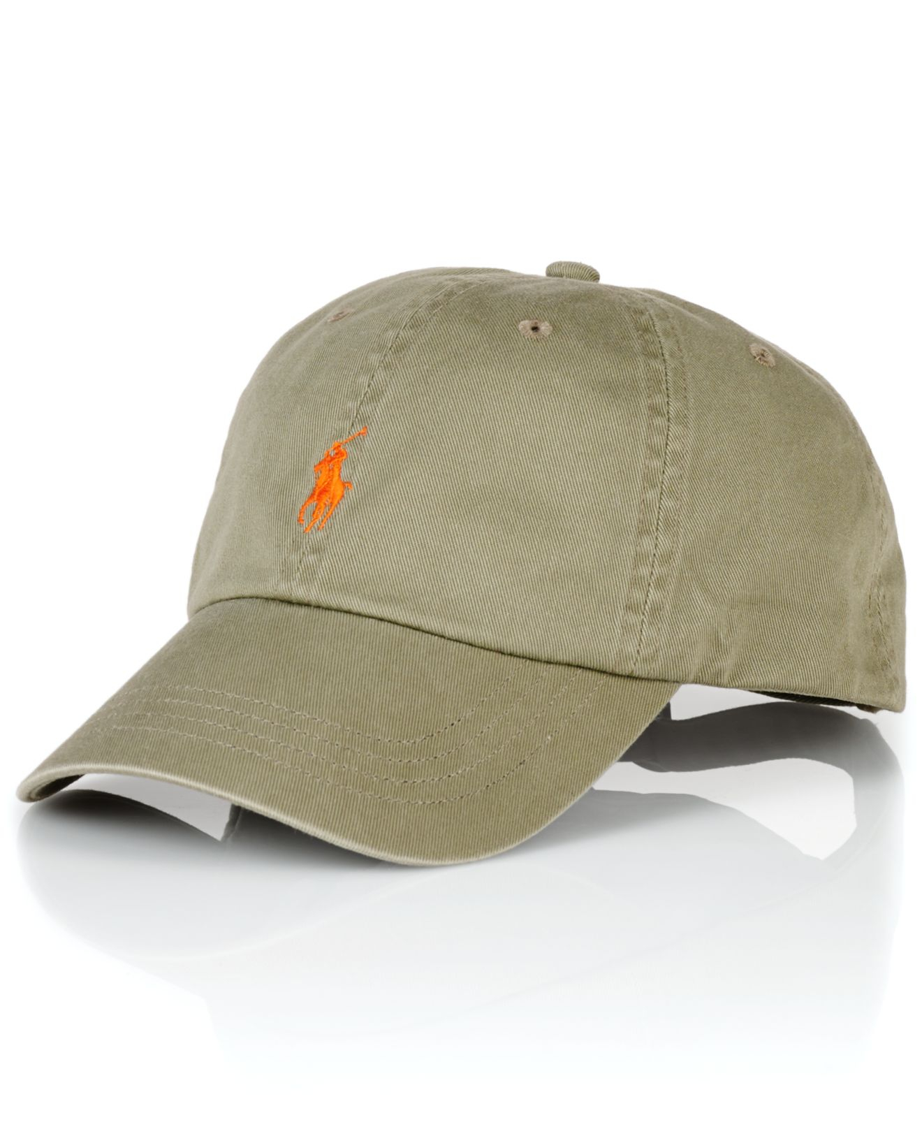 polo ralph lauren classic chino sports cap in green for. Black Bedroom Furniture Sets. Home Design Ideas
