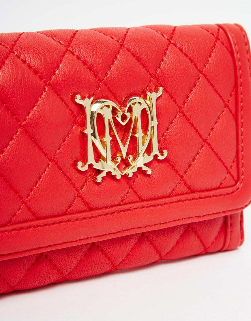 Love Moschino Wallet Red