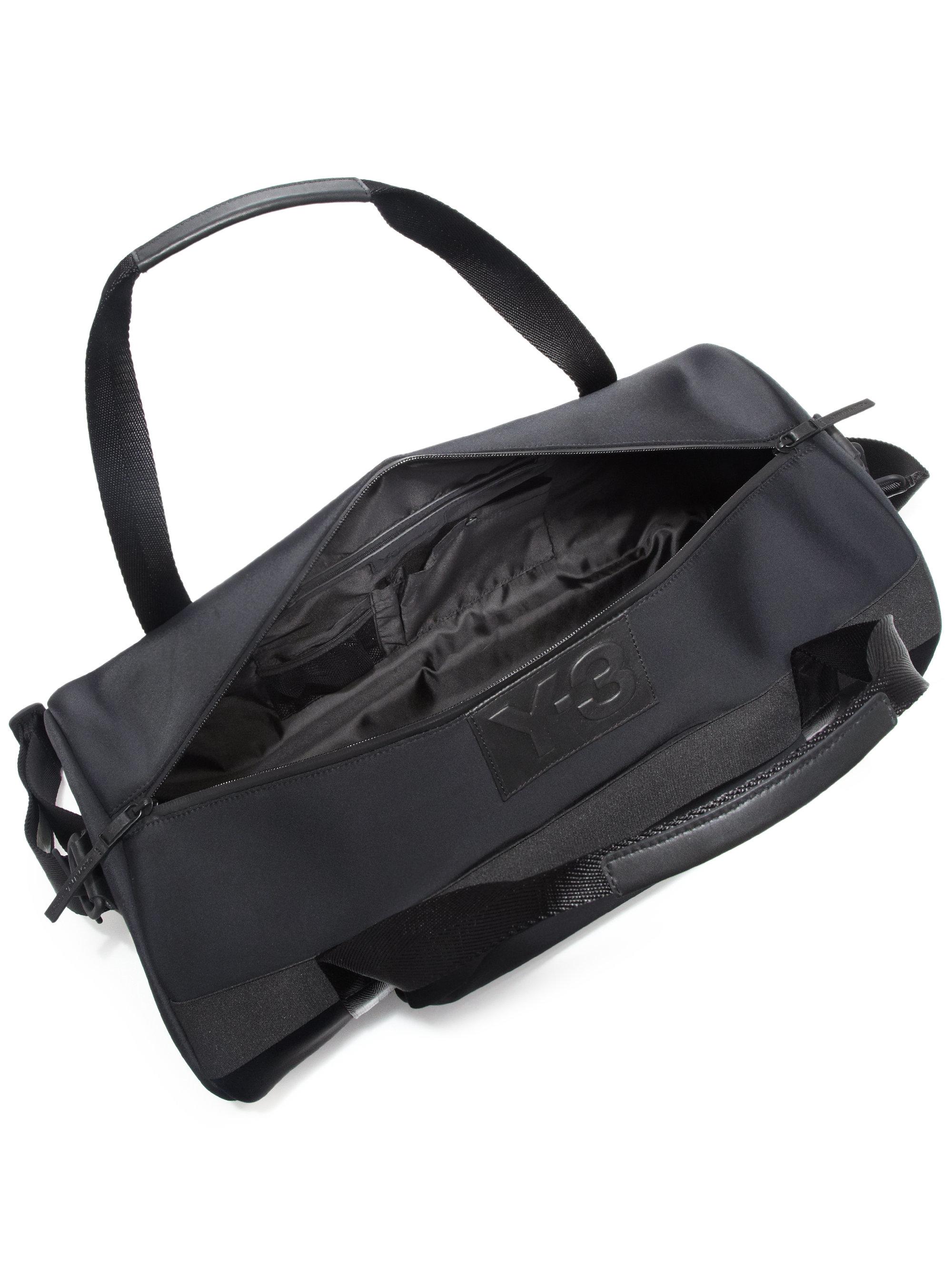 Lyst - Y-3 Day Gym Bag in Black for Men d2e4fa36659ec