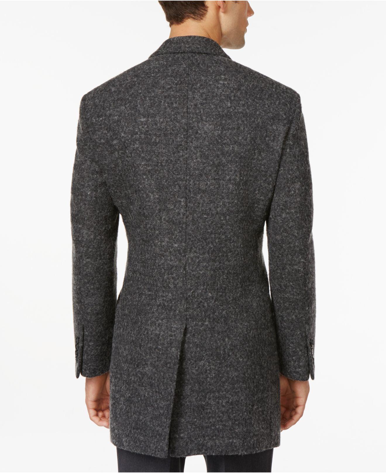 Calvin klein x fit charcoal melange extra slim fit for Calvin klein x fit dress shirt