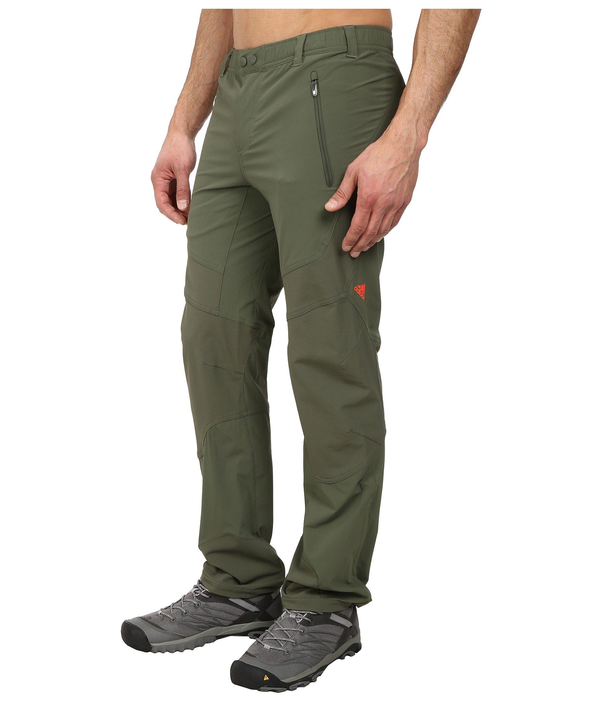 adidas Terrex Mountain Pants in Green for Men Lyst