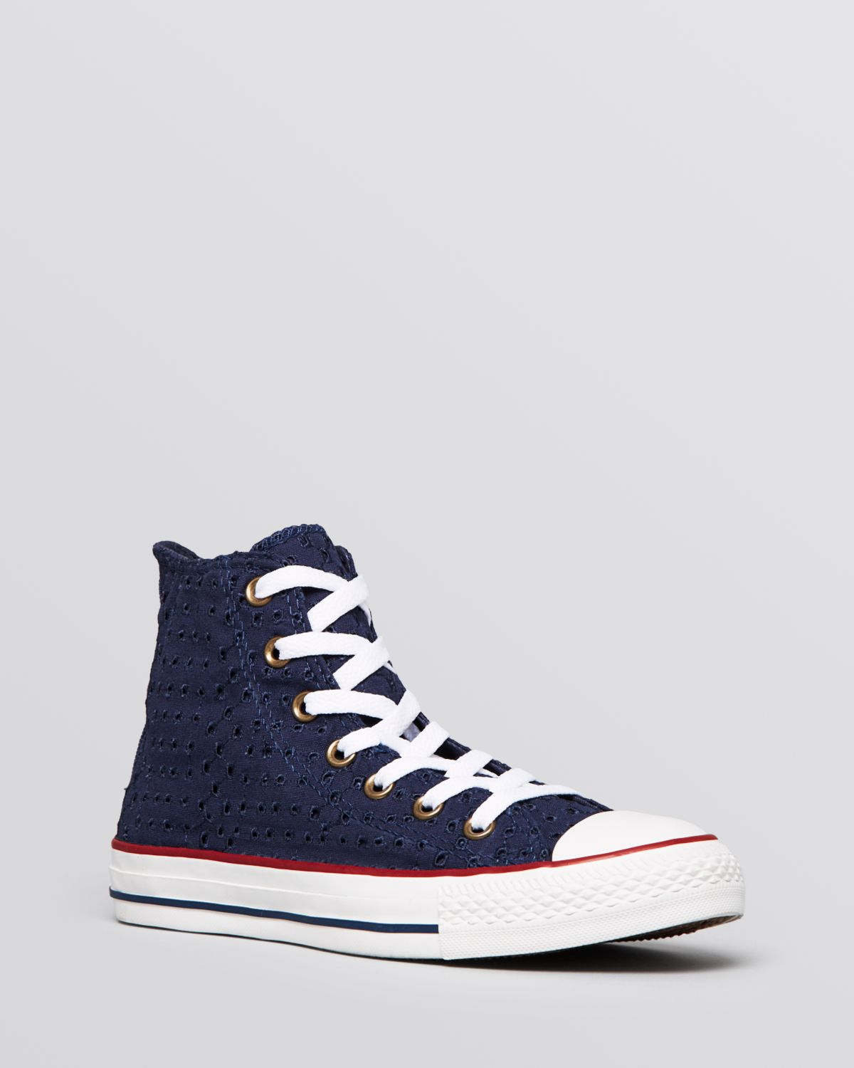 450e756ac2fb Lyst - Converse Lace Up High Top Sneakers Chuck Taylor All Star in Blue