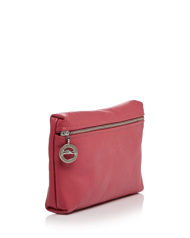 2014 New Portable Longchamp Cosmetic Bags White   Rigolade fc1c3f8b89