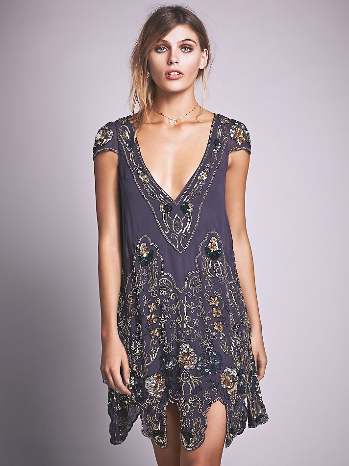 Free People Magic Garden Party Dress In Blue Lyst