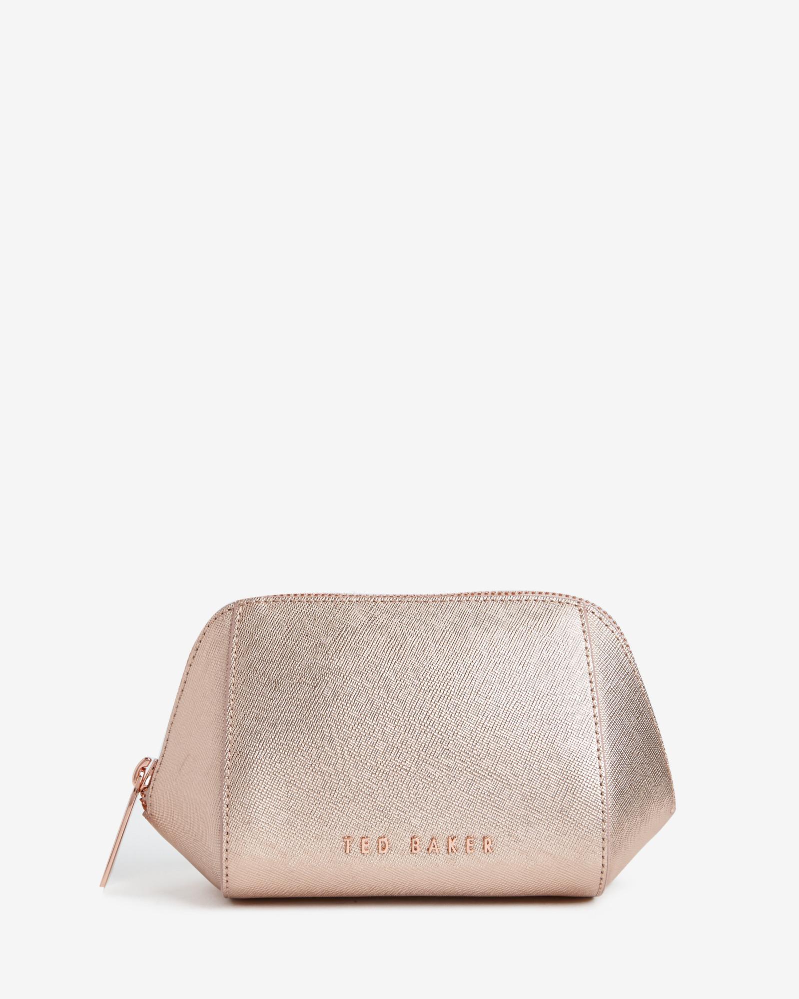 d7b8915d74b7da Lyst - Ted Baker Crosshatch Wash Bag in Pink for Men