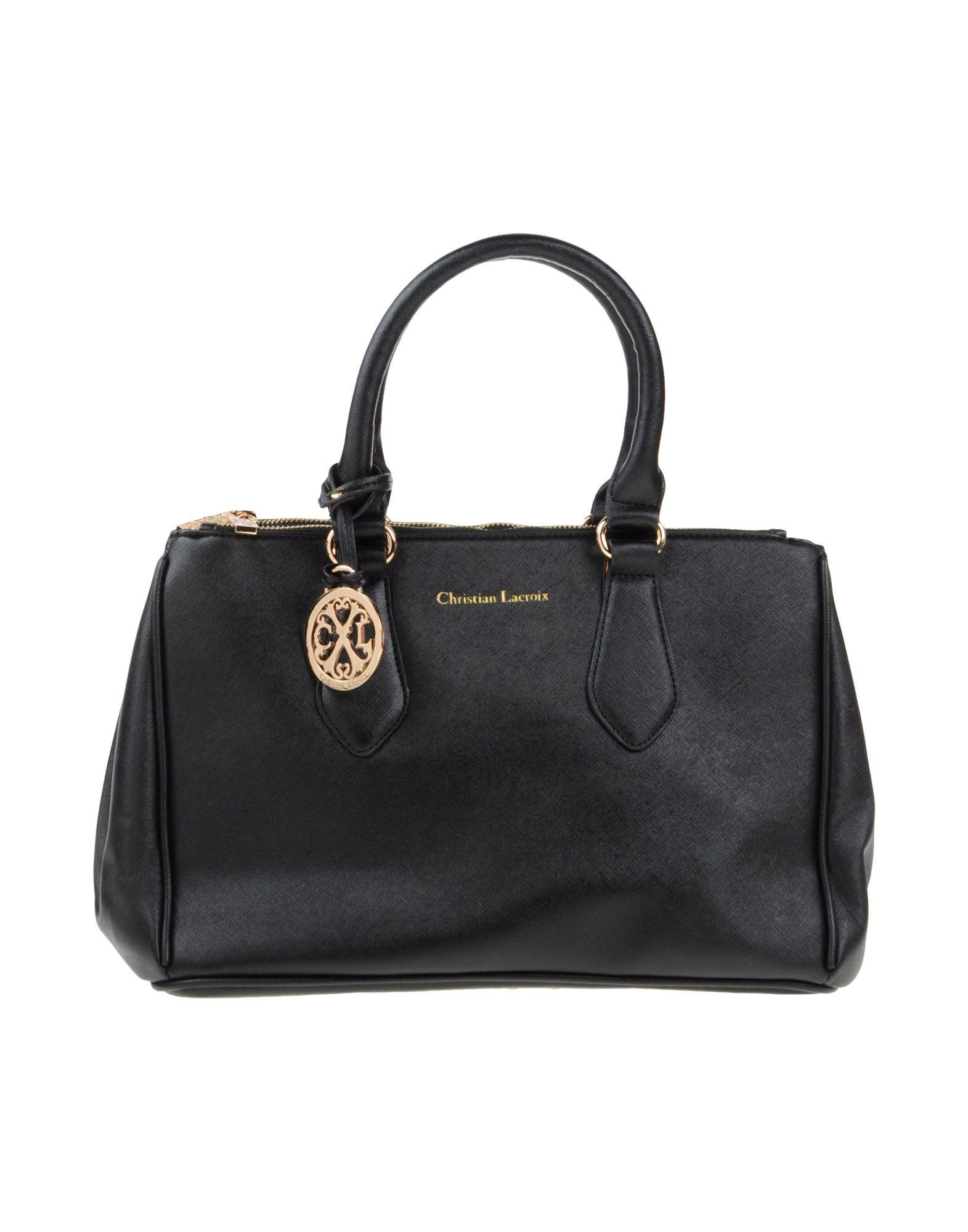 2876693a7 Christian Lacroix Handbag in Black - Lyst